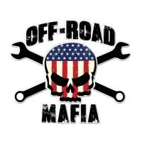 Стикер OFF ROAD MAFIA 11,2 cm x 9,5 cm 1 бр.