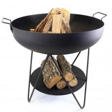 Купа за Огън със стойка за дърва