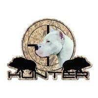 Стикер Дого Аржентино куче 16 cm х 12 cm