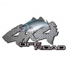 Стикер 4х4 FISH 11,5 х 10 см