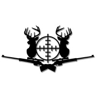 Стикер Target Deer 15см x 7.5см.