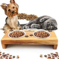 Хранилка за котки и кучета - с надпис Grill Melody