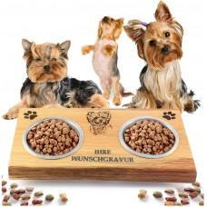 Хранилка за котки и кучета - Yorky с надпис Grill Melody