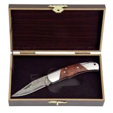 Haller Дамаски джобен нож в подаръчна кутия 80623
