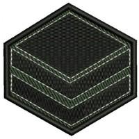 Знак Главен сержант на Батальон