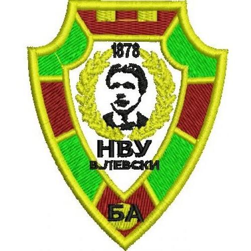Знак на войсково формирование - ВТУ В.Левски
