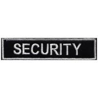 Бродерии табелка Security