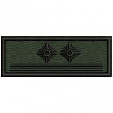 Лента за шапка Подполковник