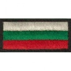 Нашивки - Българско знаме 3X7см.