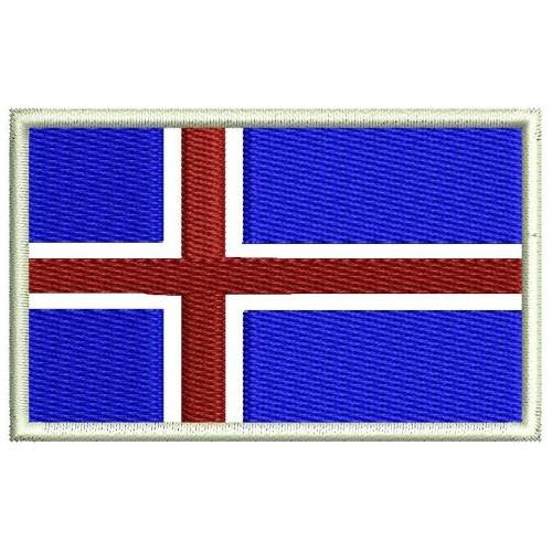 Флаг Исландия