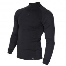 Мъжкa термо блуза с висока яка BLACK BLACK 3TMDB20381313