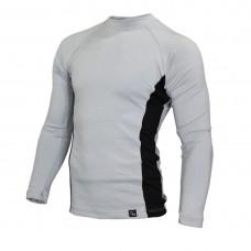 Мъжкa термо блуза с висока яка GREY BLACK 5TMDB20382513