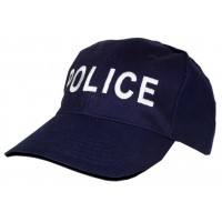 Шапка Police тъмно синя