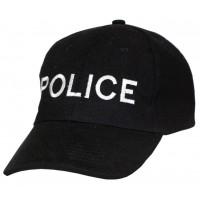 Шапка Police черна