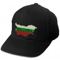 Шапка България - черна