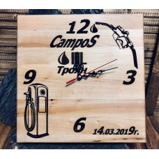 Лазерно гравиран часовник CampoS