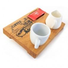Лазерно гравирани поставки за кафе1