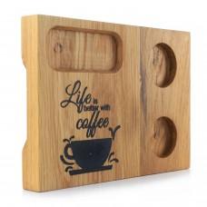 Лазерно гравирани поставки за кафе