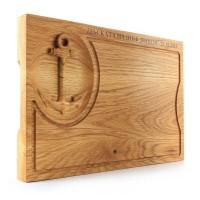 Лазерно гравирана дъска за рязане-3D Котва