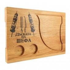 Лазерно гравирана дъска за рязане-Шишчета