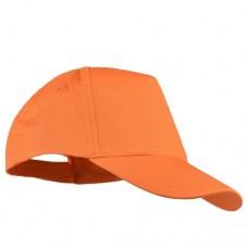 Шапка с козирка BALI - Оранжево