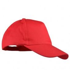 Шапка с козирка BALI - Червено