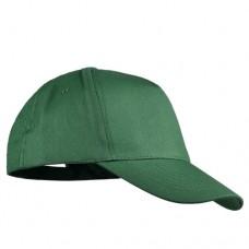 Шапка с козирка BALI - Тъмно зелено