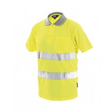 Блуза тип пике DOVER - Жълто