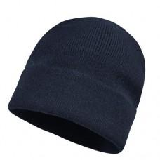 Шапка плетена GLAZE - Тъмно синьо