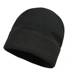 Шапка плетена GLAZE - Черно