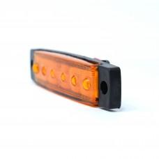 0175 Оранжеви 1 бр 6 LED