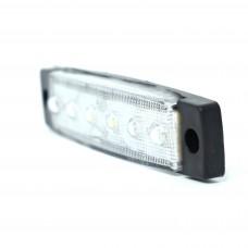 0175 Бели 1 бр 6 LED